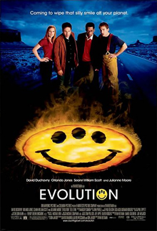 Even EVOLUTION deserves better than this crappy poster