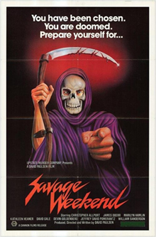There's no Grim Reaper costume in the movie, this is just the poetry of movie poster art