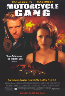 Starring Jake Busey and Carla Gugino, seen here in other movies besides the one this poster is advertising.